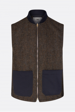 The Workers Club Wool Gilet