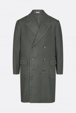 Boglioli Double-Breasted Polo Coat