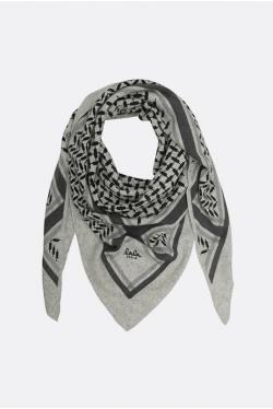 Lala Berlin Triangle Classic Flanella M Tørklæde