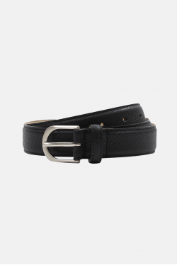 An Ivy Pepple Grain Leather Belt