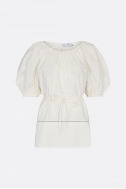 Proenza Schouler White Label Puff Sleeve Poplin Top