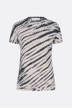 Proenza Schouler White Label Tie Dye Stretch Jersey T-shirt