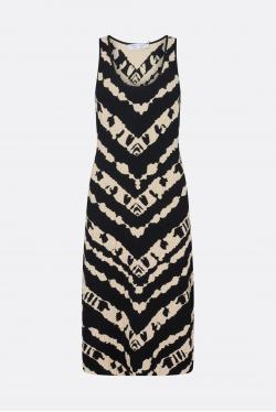 Proenza Schouler White Label Animal Jacquard Knit Kjole
