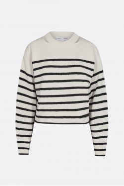 Proenza Schouler White Label Boucle Stripe Sweater