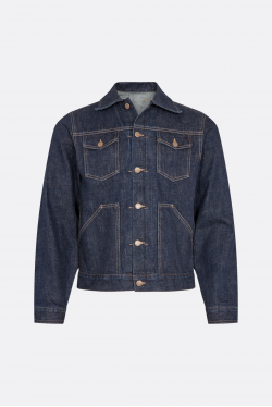 The Workers Club Indigo Rinse Jacket