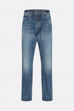The Workers Club Relaxed Fit Vintage Wash Jeans