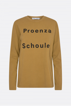 Proenza Schouler White Label Logo Long Sleeve T-Shirt