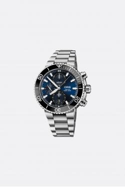 Oris Aquis Chrono Deep Blue Watch