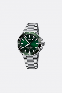Oris Aquis Date Green Watch