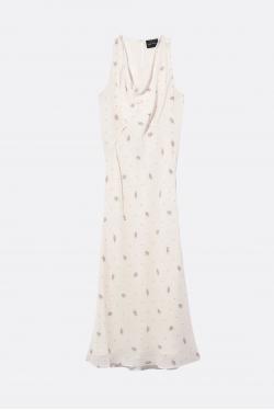 Marc Jacobs Halter Cowl Neck Dress