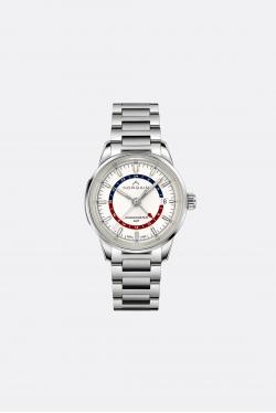 Norqain Freedom 60 GMT Steel Opaline Dial Bracelet Watch