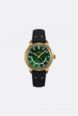 Norqain Freedom 60 GMT Bronze Green Dial L.E Watch