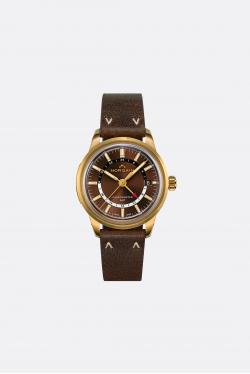 Norqain Freedom 60 GMT Norlando Ebony Strap Watch