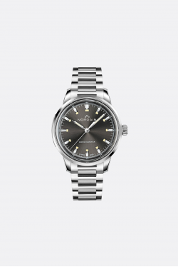 Norqain Freedom 60 Steel Anthracite Dial Steel Bracelet Watch