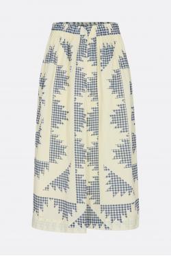 Sea New York Gloucester Gingham Skirt