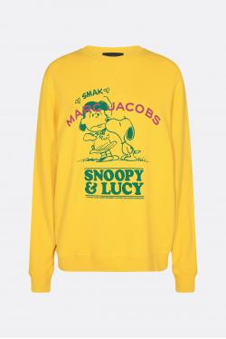 Marc Jacobs Peanuts I Fall in Love Crewneck Sweatshirt