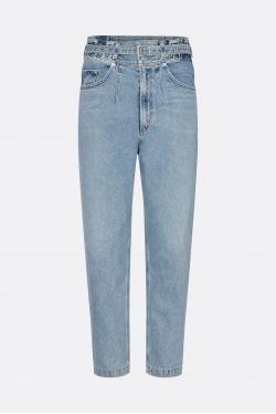 Agolde Riya Elasticated Peg Jeans