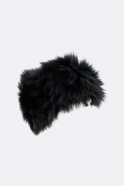 Yves Salomon Knitted Fox Headband