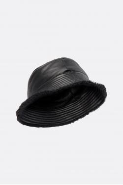 Yves Salomon Lamb Bucket Hat