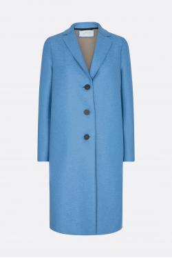 Harris Wharf Wool Overcoat