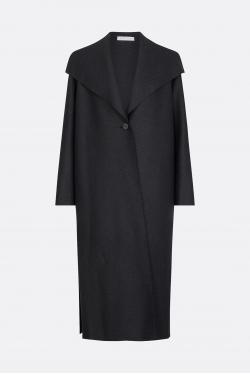 Harris Wharf Side Slits Coat