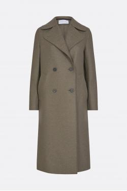 Harris Wharf Military Wool Coat