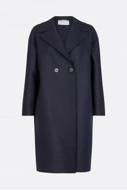 Harris Wharf Double Breasted Wool Coat