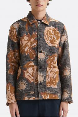 Wood Wood Fabian Jacquard Overshirt