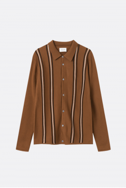 Wood Wood Chester 3D Striped Cardigan