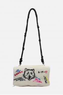 Philosophy di Lorenzo Serafini Artistic Printed Handbag