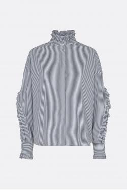 The Garment Wales Pleat Skjorte
