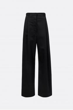 Proenza Schouler White Label Cotton Twill Wide Leg Pants