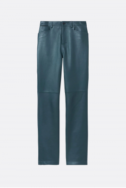 Proenza Schouler White Label Leather Straight Pants