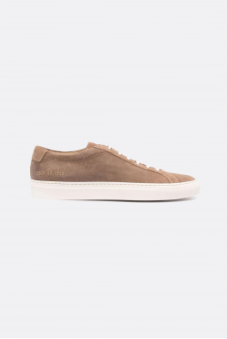 Common Projects Achilles Low Waxed Suede Sneakers