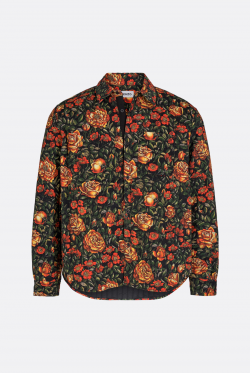 Kenzo Printed Quilted Shirt