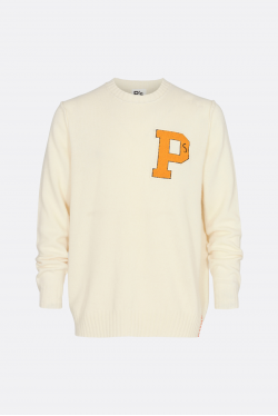 President's PS Crew Self Edge Patch Knit