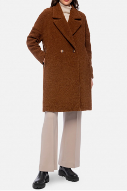 Harris Wharf Oversize Bouclé Coat