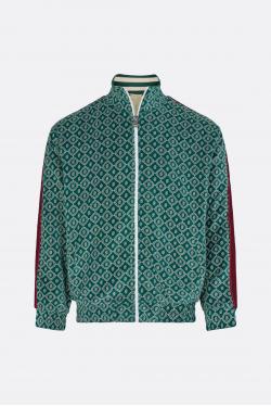 Drôle de Monsieur Le Survet' Monogramme Velours Jacket