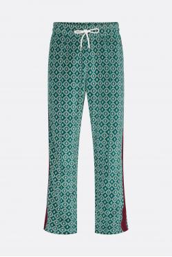 Drôle de Monsieur Le Survet' Monogramme Velours Trousers