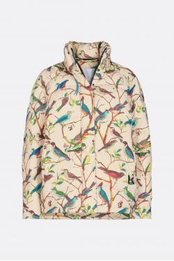 Kenzo Printed Cocoon Puffer Jacket