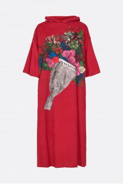 Kenzo Hoodie Tunic Dress