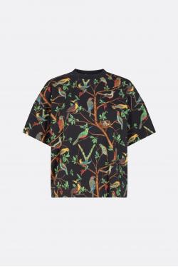 Kenzo Allover Birds Boxy T-Shirt