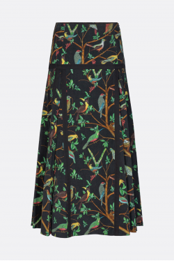 Kenzo Printed Long Skirt