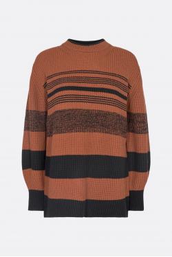 Proenza Schouler White Label Lofty Stripe Oversized Sweater