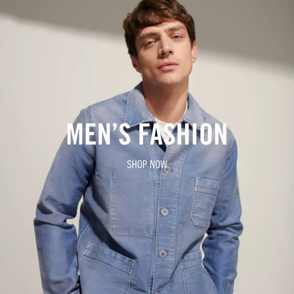 shop mens fashion